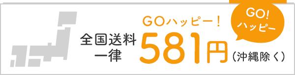 全国送料一律581円(沖縄除く)