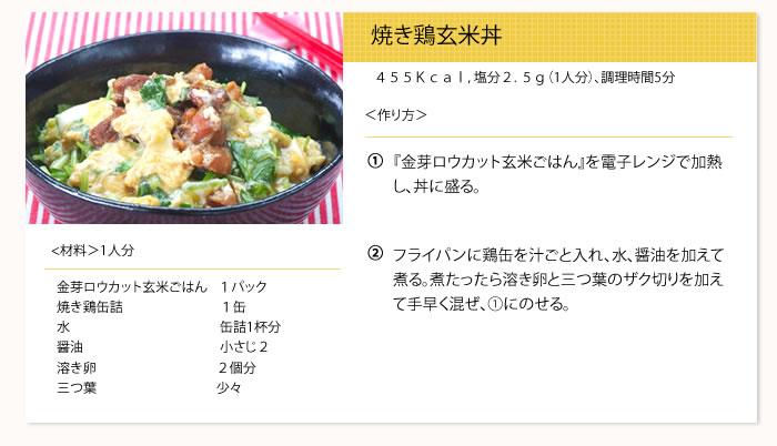 焼き鳥玄米丼